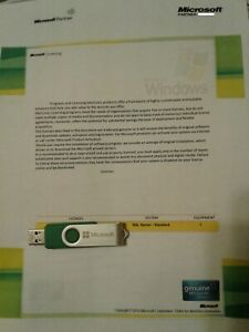 Microsoft SQL Server 2012 Standard PKC License Key w. 5 CAL's & original MS USB