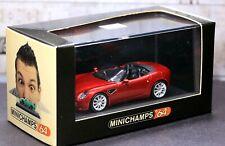 Mini Champs 64 1/64 Alfa Romeo 8C Spider 2008 Red Metallic