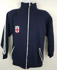 England Blue Track Soccer Zip Up Men's Light Jacket Size Small