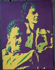Bernard RANCILLAC - Sérigraphie S/N Portrait de Nazim Hikmet et sa femme**