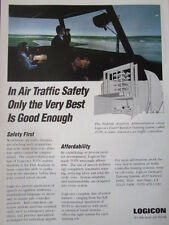 1992 PUB LOGICON TOTS TOWER OPERATOR TRAINING SYSTEM ATC AIR TRAFFIC ORIGINAL AD