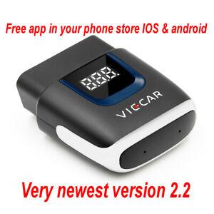 Viecar ELM327 V2.2 ODB2 Bluetooth 4.0 OBD 2 Code Reader Diagnostic Scanner UK
