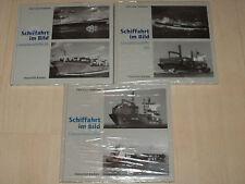 Sammlung Schiffahrt im Bild Containerschiffe Band 1, 2 und 3 Hardcover!