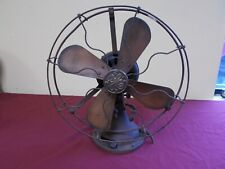 VINTAGE GENERAL ELETRIC  12 in ELETRIC FAN  OSULATING TYPE AUU # 1343963-PARTS--