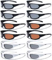 Dozen Wholesale Lot Polarized Men Sport Fishing Driving Sunglasses Party Favors