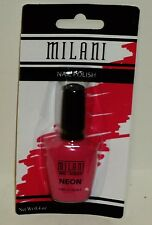 Milani Nail Laquer NEON Nail Polish Nail Color PINK ROCKS #508 NIP