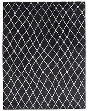 Restoration Hardware Pezza Rug - Midnight/Grey Hand Knotted 10x14 Wool $10495