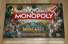 Monopoly World Of Warcraft Collector's Edition avec 6 figurines figure allemand
