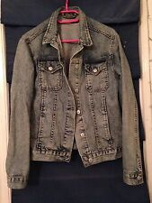 Topshop Hip Length Casual Denim Coats & Jackets for Women