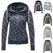 Hailys Damen Sweatjacke mit Kapuze Damenjacke Hoodie Übergangsjacke Sweater SALE