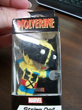 MARVEL COMICS X-MEN WOLVERINE STRING DOLL KEY CHAIN