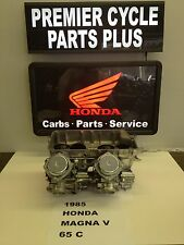 1985 HONDA MAGNA V 65C REMANUFACTURED KEIHIN CARBS CARBURETORS READY TO RUN