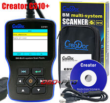 Creator C310+ V6.1 OBDII BM-Multi-System Code Reader Scanner For BMW Scan Tool