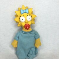 Maggie Simpson Plush Doll 1990 Burger King Simpsons 👀🔥