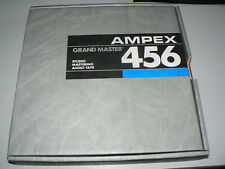 "AMPEX 456 Studio Mastering Audio Tape 1"" Aluminum Reel and Hardcase"