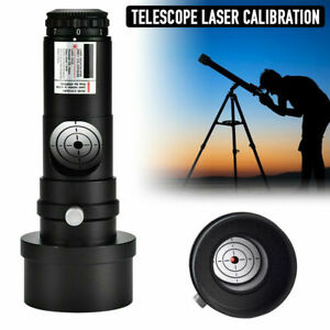 """1.25"""" Red Laser Collimator+2"""" Adaptor for Telescopes with 7 Bright Level UK Ship"""