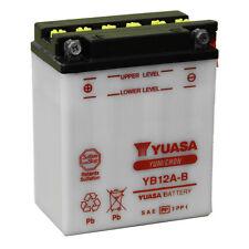 Batterie Yuasa moto YB12A-B HONDA  XL600V Transalp 89-90