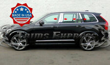 2015-2020 Volvo XC90 8Pc Chrome Pillar Post Stainless Steel Trim Door Cover