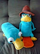 Disney Parks PERRY PLATYPUS Phineas & Ferb Plushes Detective Perry