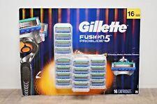 NEW/OB 16 GILLETTE FUSION Proglide Power Blades Cartridge Refill
