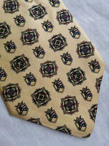 TOMMY HILFIGER 100% silk tie necktie cravat