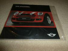 Mini Accessories 2003-04 UK Brochure One One D Cooper Cooper S. MINT