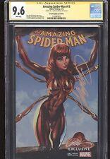 Amazing SpiderMan #15 Signed J Scott CampbellCGC 9.6 NM+ 1st MJ Iron Spider