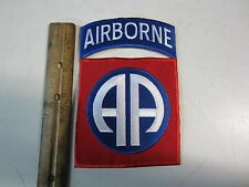 82ND AIRBORNE PATCH OVERSIZED