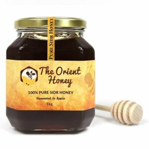 1KG The Orient Honey Pure Sidr Top Quality 100% Authentic Royal Raw + Dipper