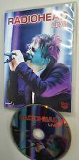 DVD Radiohead - Live ( Rare Brazil Only Edition )