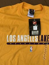 Nike Los Angeles Lakers LA Lakers Shaq Kobe Bryant Vintage 1990's Gold Purple XL