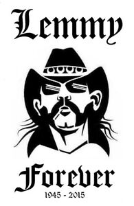 high detail airbrush stencil lemmy forever. FREE POSTAGE