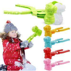 Snow Snowball Maker Clip Maker Dinosaur Shaped Snow Sand Mold Tool Outdoor Toys