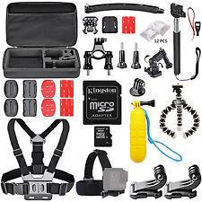 Accessories Kit for Go Pro GoPro Hero 5 4 3+ Action Camera Bundle SJCAM Xiaomi 2