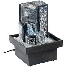 """Deko-Brunnen: Zimmerbrunnen """"Himmelstreppe"""" mit Pumpe und LED, ca. 18 cm"""