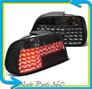 95-01 BMW E38 7-SERIES 740i 740iL 750i LED TAIL BRAKE LIGHT SMOKE 96 97 98 99 00