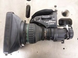 Canon Lens J21ax7.8B4 IRS SX12  FULL SERVO, IFXS, Broadcast Zoom Lens
