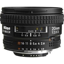 Nikon AF Nikkor 20mm f/2.8 D Super Wide Angle Lens