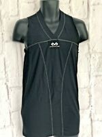 McDavid HDC Compression Mens T-Shirt Black Size L Vest Base Layer Sports NEW