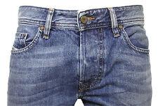 Diesel Straight-Cut Jeans LARKEE 0800Z 800Z blau verwaschen  Gr. 31/32  NEU
