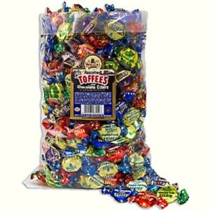 Walkers Nonsuch Assorted Toffees & Chocolate Eclairs Wrapped Sweets Pick N Mix