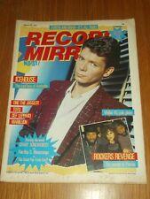 RECORD MIRROR FEBRUARY 19 1983 ICEHOUSE ROCKERS REVENGE DEF LEPPARD DURAN DURAN