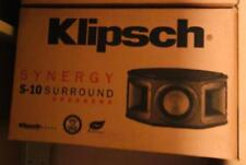 NEW Klipsch Synergy S10 S-10 Surround Speakers PAIR