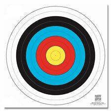 10 Stück Zielscheiben Auflagen FITA 40 x 40 cm mit NYLONFÄDEN verstärkt