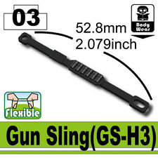 GS-H3 (W91) Army Custom Gun Sling compatible with toy brick minifigures SWAT