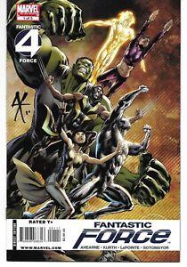 Fantastic Force 1 Signed Steve Kurth Autographed Four Wolverine Hulk Human Torch