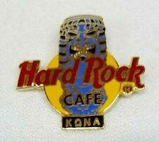 Vintage 1990's HARD ROCK CAFE KONA Hawaii TIKI God Lapel Hat Pin RARE & HTF