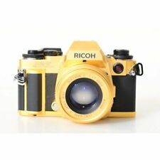 Ricoh XR-P Multi Program Kamera mit Rikenon P 1,7/50mm Objektiv Gold