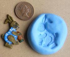 Reusable Rabbit Silicone Food Safe Mould, Mold Sugarcraft, Jewellery, Cake SAFBD