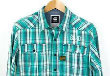 G-STAR RAW Men Brass Rewind Check Casual Shirt Size M ABZ83